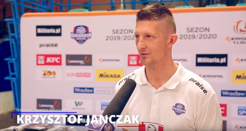 Trener Krzysztof Janczak po meczu ze Stalą