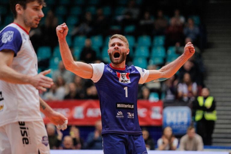 KFC Gwardia Wrocław pokonała SMS PZPS I Spałę 3:1