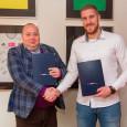 Podpisanie umowy barterowej MPK-KFC Gwardia